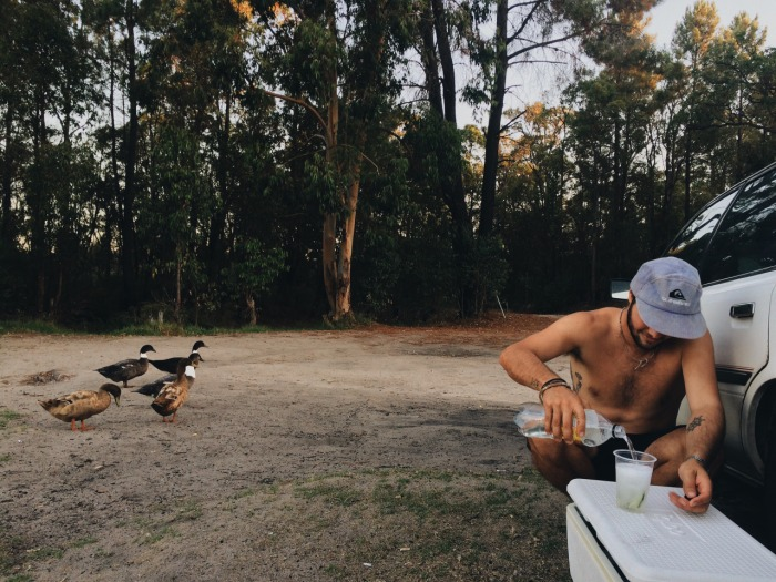 The best bits: Bush camping. Ducks like gin, and snakes will shoot up your butt.